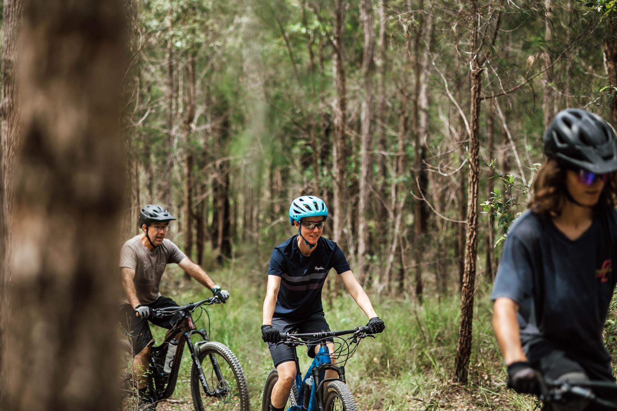 Mountain Biking Kalateenee State Forest Kempsey