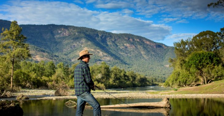 Fishing in the Macleay River