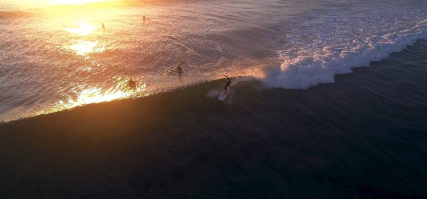 Sunrise malibu rider at Crescent Head_Macleay Valley Coast